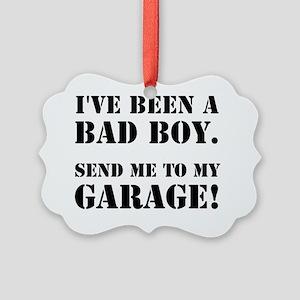 Bad Boy Garage Picture Ornament