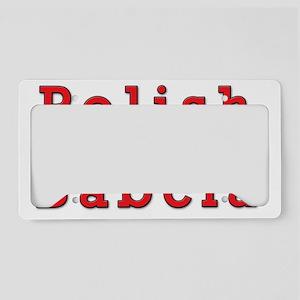 Polish Babcia Eagles License Plate Holder