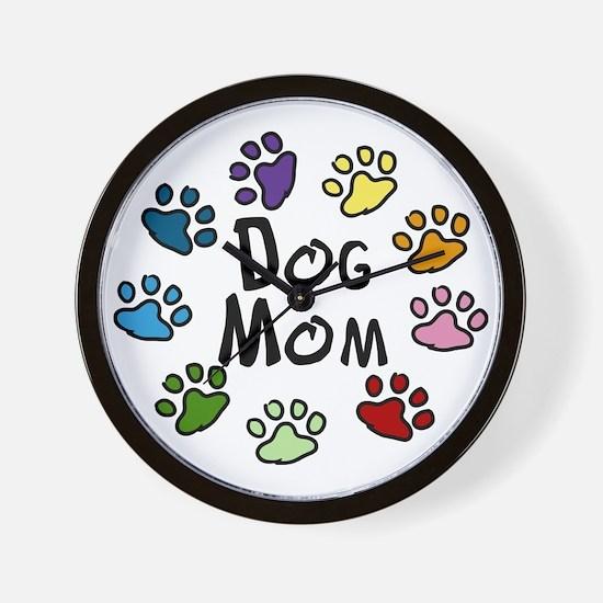 Dog Mom Wall Clock