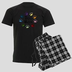 Dog Mom Men's Dark Pajamas