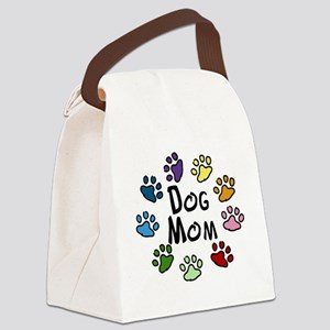Dog Mom Canvas Lunch Bag