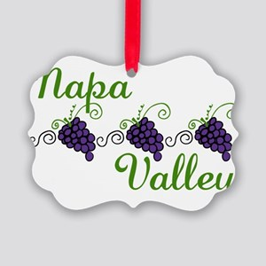 Napa Valley Picture Ornament