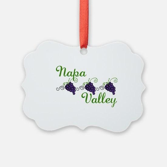 Napa Valley Ornament