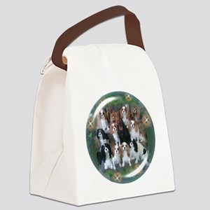 Cavalier King Charles Spaniel Gro Canvas Lunch Bag