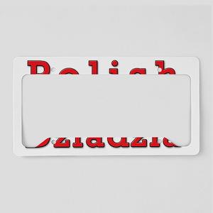 Polish Dziadzia Eagles License Plate Holder
