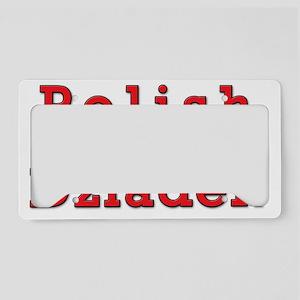Polish Dziadek Eagles License Plate Holder