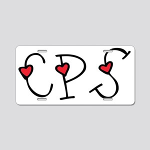 CPS Key Holder Aluminum License Plate