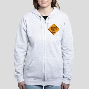 the _ grumpy _ old _ man Women's Zip Hoodie