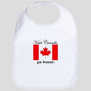 Visit Canada Ya Hoser Bib