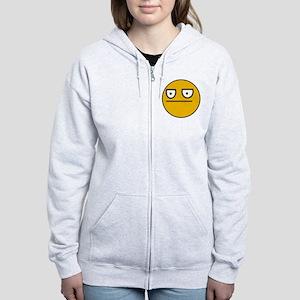 Grumpys _ Stoic _ Orignal Women's Zip Hoodie