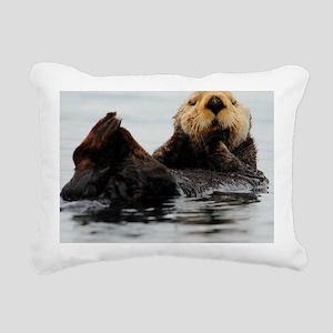 MP_Otter_1 Rectangular Canvas Pillow