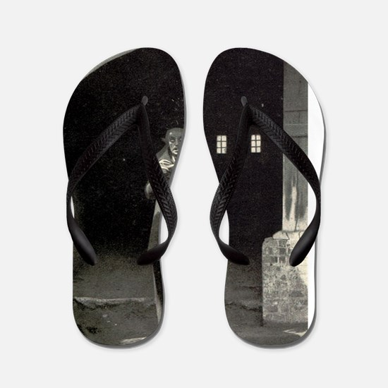 nosferatu Flip Flops