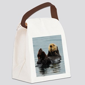 MP_Otter_12 Canvas Lunch Bag