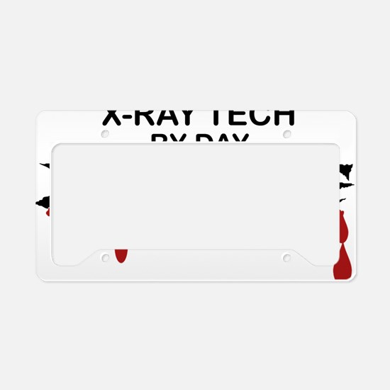X-Ray Tech Zombie License Plate Holder
