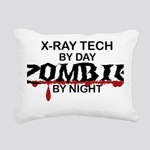 X-Ray Tech Zombie Rectangular Canvas Pillow