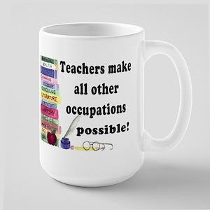 """""""Teacher Occupations"""" Mugs"""
