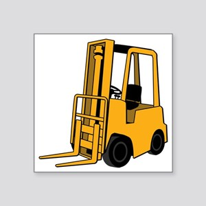 "Forklift Square Sticker 3"" x 3"""