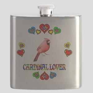 Cardinal Lover Flask