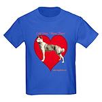 Valentine  Kids Dark T-Shirt