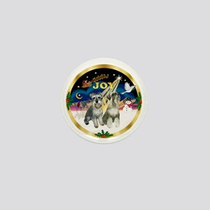 JoyWreath-2Schnauzers Mini Button