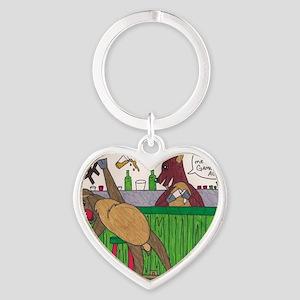 billy deer Heart Keychain