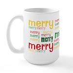 Merry Merry Large Mug