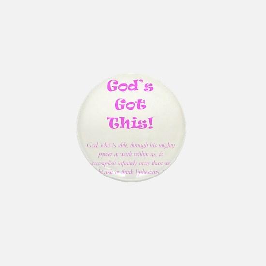 Gods Got This Mini Button
