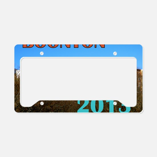 Boonton, NJ 2013 Calendar License Plate Holder