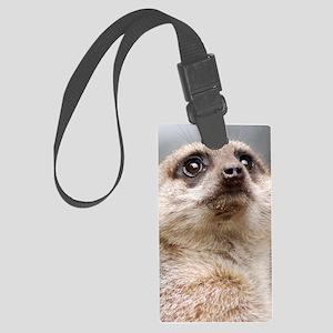 Meerkat Mini iPad Large Luggage Tag