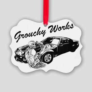 Grouchy Works Picture Ornament