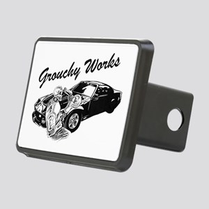 Grouchy Works Rectangular Hitch Cover