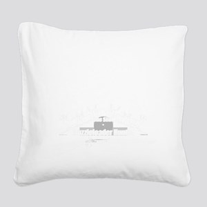 Muzzleloader Square Canvas Pillow