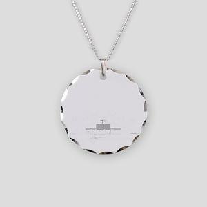 Muzzleloader Necklace Circle Charm