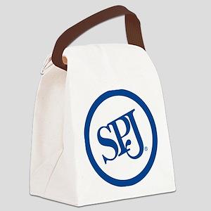 SPJ Circle Canvas Lunch Bag