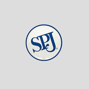 SPJ Circle Mini Button