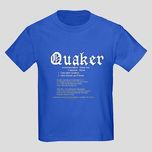 Definition of Quaker Kids Dark T-Shirt