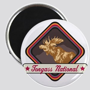 Tongass Pop-Moose Patch Magnet