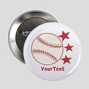 "CUSTOMIZE Baseball 2.25"" Button"