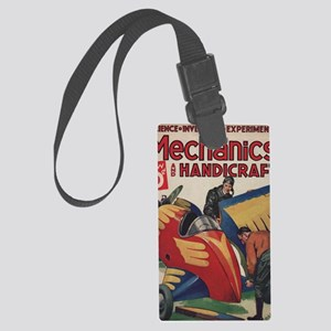 The Flying Auto Large Luggage Tag