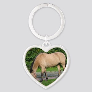 New Forest Pony Heart Keychain