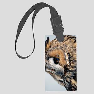 Eagle Owl Nexus Phone Case Large Luggage Tag