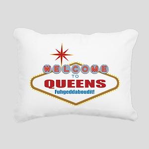 Queens Rectangular Canvas Pillow