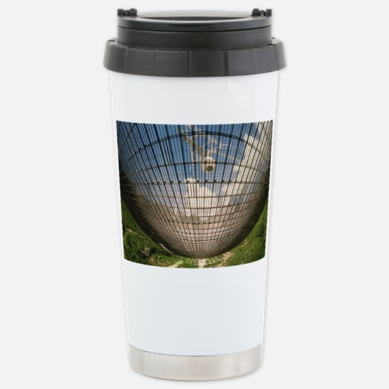 Underside of Arecibo ra Stainless Steel Travel Mug