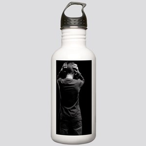 Unhappy boy Stainless Water Bottle 1.0L