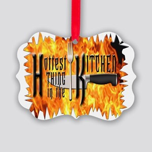 Hottest Thing in the Kitchen Picture Ornament