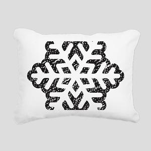Flakey Rectangular Canvas Pillow