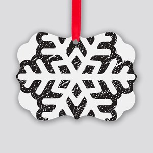 Flakey Picture Ornament
