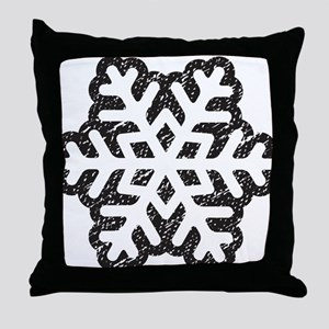 Flakey Throw Pillow
