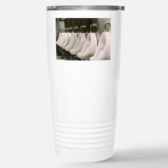 Urinals Stainless Steel Travel Mug
