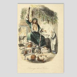 Third Vistor for Scrooge Postcards (Package of 8)